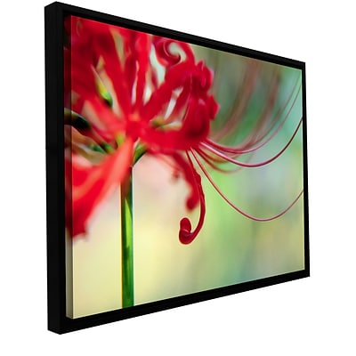 ArtWall Soft Spring Gallery-Wrapped Canvas 18 x 24 Floater-Framed (0uhl169a1824f)