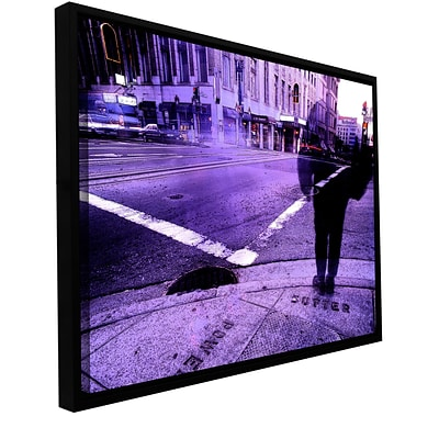 ArtWall Sutter And Powell Gallery-Wrapped Canvas 14 x 18 Floater-Framed (0uhl170a1418f)