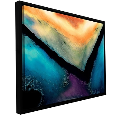 ArtWall The Brink Gallery-Wrapped Canvas 32 x 48 Floater-Framed (0uhl173a3248f)