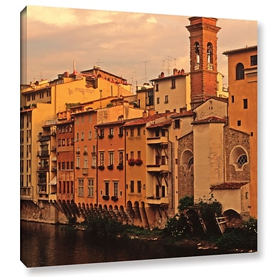 ArtWall Florence Charm Gallery-Wrapped Canvas 18 x 18 (0yat070a1818w)