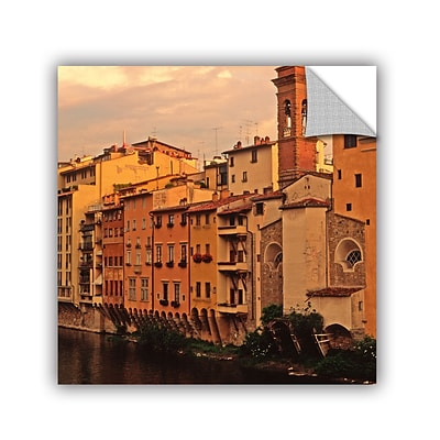 ArtWall Florence Charm Art Appeelz Removable Wall Art Graphic 24 x 24 (0yat070a2424p)
