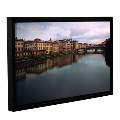 ArtWall Florence Memories Gallery-Wrapped Canvas 12 x 18 Floater-Framed (0yat071a1218f)