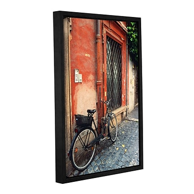 ArtWall La Bicicletta Gallery-Wrapped Canvas 16 x 24 Floater-Framed (0yat073a1624f)