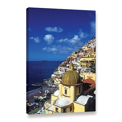 ArtWall Picturesque Positano Gallery-Wrapped Canvas 24 x 36 (0yat074a2436w)