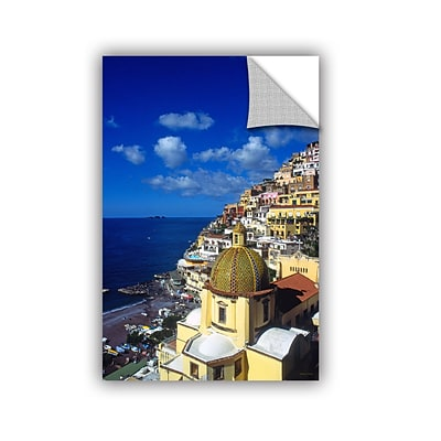 ArtWall Picturesque Positano Art Appeelz Removable Wall Art Graphic 32 x 48 (0yat074a3248p)