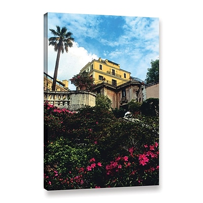 ArtWall spanish Steps In Rome Gallery-Wrapped Canvas 16 x 24 (0yat079a1624w)
