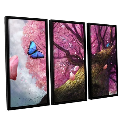 ArtWall In The Shadow Of Peace 3-Piece Canvas Set 36 x 54 Floater-Framed (0goa004c3654f)