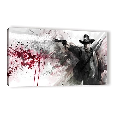 ArtWall Justice Gallery-Wrapped Canvas 24 x 48 (0goa006a2448w)
