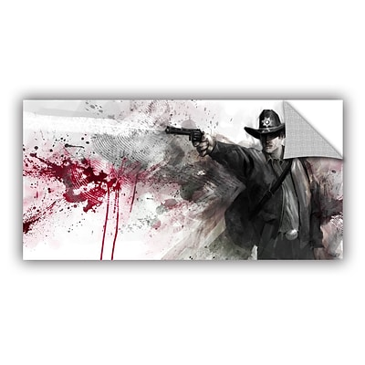 ArtWall Justice Art Appeelz Removable Wall Art Graphic 18 x 36 (0goa006a1836p)