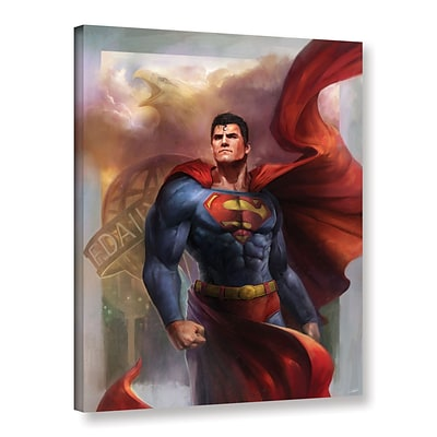 ArtWall Man Of Steel Gallery-Wrapped Canvas 18 x 24 (0goa009a1824w)