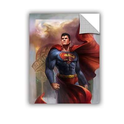 ArtWall Man of Steel Art Appeelz Removable Wall Art Graphic 36 x 48 (0goa009a3648p)