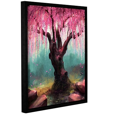 ArtWall Ode To Spring Gallery-Wrapped Canvas 14 x 18 Floater-Framed (0goa011a1418f)