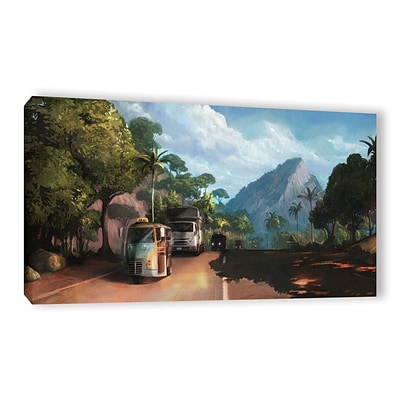 ArtWall Rush Hour Gallery-Wrapped Canvas 24 x 48 (0goa015a2448w)