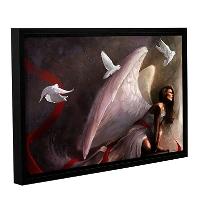 ArtWall Sometimes They Weep Gallery-Wrapped Canvas 12 x 18 Floater-Framed (0goa016a1218f)
