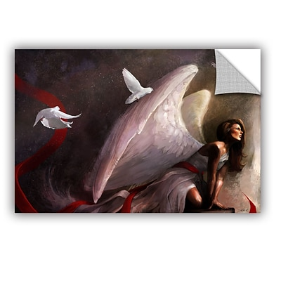 ArtWall Sometimes They Weep Art Appeelz Removable Wall Art Graphic 16 x 24 (0goa016a1624p)