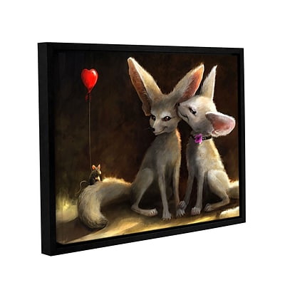 ArtWall Sweet Nothings Gallery-Wrapped Canvas 18 x 24 Floater-Framed (0goa020a1824f)