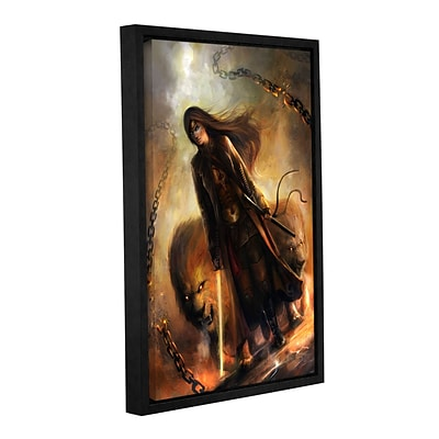 ArtWall The Good Path Gallery-Wrapped Canvas 12 x 18 Floater-Framed (0goa023a1218f)