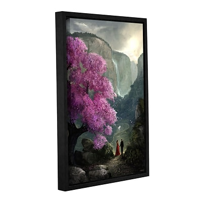 ArtWall The Path Gallery-Wrapped Canvas 24 x 36 Floater-Framed (0goa024a2436f)