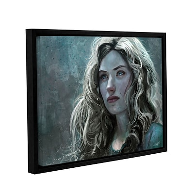 ArtWall The Witch Gallery-Wrapped Canvas 36 x 48 Floater-Framed (0goa026a3648f)