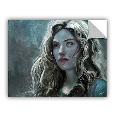 ArtWall The Witch Art Appeelz Removable Wall Art Graphic 18 x 24 (0goa026a1824p)