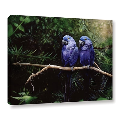 ArtWall Twins Gallery-Wrapped Canvas 18 x 24 (0goa027a1824w)