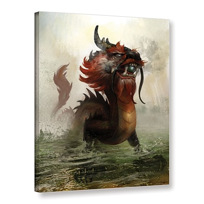 ArtWall Vietnamese Dragon Gallery-Wrapped Canvas 36 x 48 (0goa029a3648w)