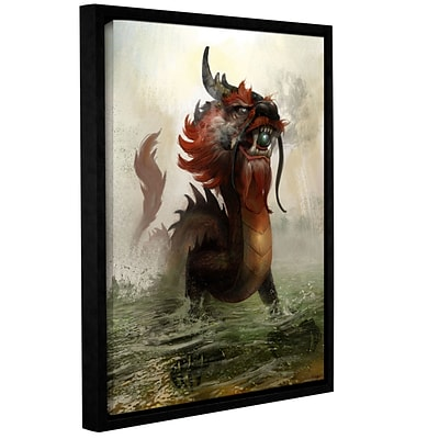 ArtWall Vietnamese Dragon Gallery-Wrapped Canvas 36 x 48 Floater-Framed (0goa029a3648f)