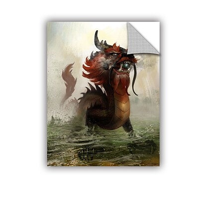 ArtWall Vietnamese Dragon Removable Graphic Wall Art 36 x 48 (0goa029a3648p)