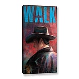 ArtWall Walk Gallery-Wrapped Canvas 18 x 36 (0goa030a1836w)