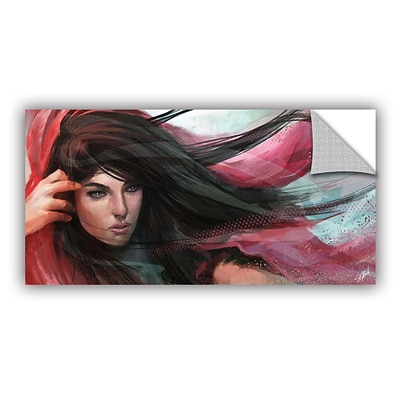 ArtWall Wind Art Appeelz Removable Wall Art Graphic 12 x 24 (0goa032a1224p)