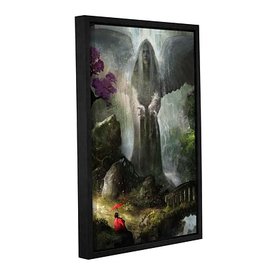 ArtWall A Place To Ponder Gallery-Wrapped Canvas 32 x 48 Floater-Framed (0goa034a3248f)