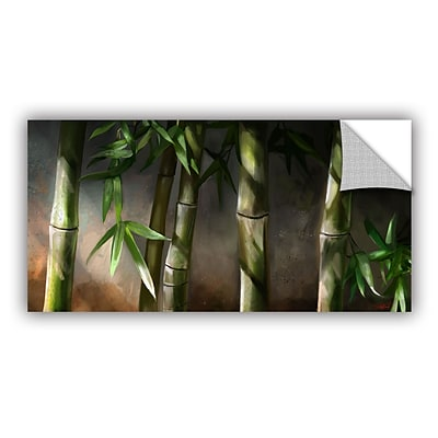 ArtWall Bamboo Art Appeelz Removable Wall Art Graphic 12 x 24 (0goa037a1224p)