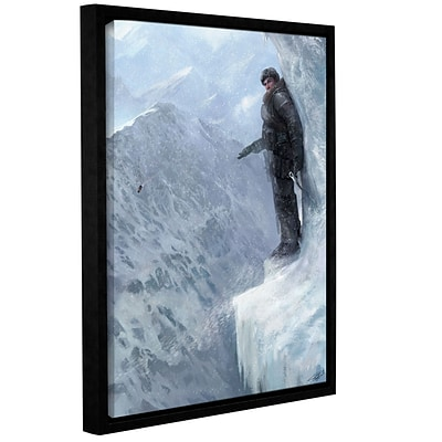 ArtWall Breaks Over Gallery-Wrapped Canvas 14 x 18 Floater-Framed (0goa044a1418f)