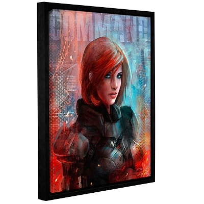ArtWall Call Me Commander Gallery-Wrapped Canvas 18 x 24 Floater-Framed (0goa045a1824f)