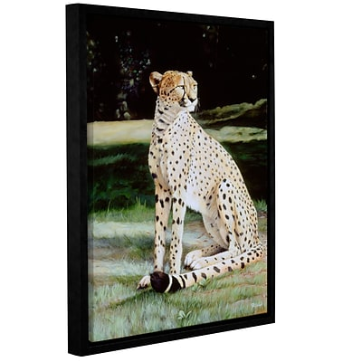 ArtWall Crowned Regal Gallery-Wrapped Canvas 18 x 24 Floater-Framed (0goa050a1824f)