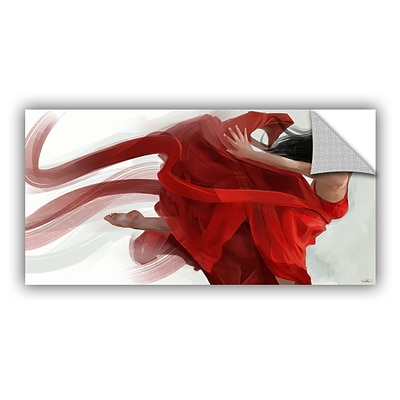 ArtWall Dance Art Appeelz Removable Graphic Wall Art 12 x 24 (0goa051a1224p)
