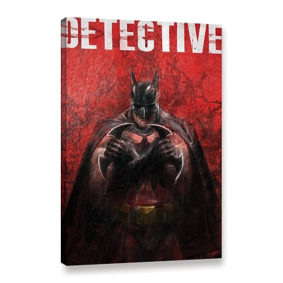 ArtWall Detective Gallery-Wrapped Canvas 24 x 36 (0goa053a2436w)