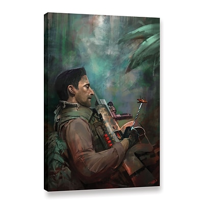 ArtWall The Hunting Of Man Gallery-Wrapped Canvas 24 x 36 (0goa061a2436w)