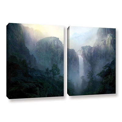 ArtWall Afternoon Light 2-Piece Gallery-Wrapped Canvas Set 18 x 28 (0str002b1828w)