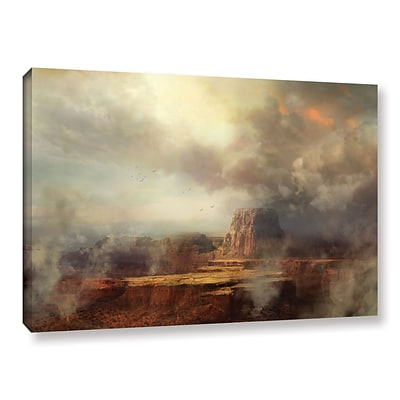 ArtWall Before The Rain Gallery-Wrapped Canvas 16 x 24 (0str003a1624w)