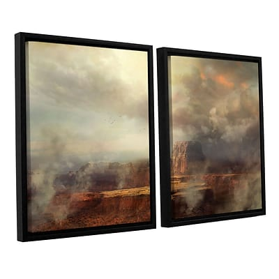 ArtWall Before The Rain 2-Piece Canvas Set 32 x 48 Floater-Framed (0str003b3248f)