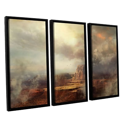 ArtWall Before The Rain 3-Piece Canvas Set 36 x 54 Floater-Framed (0str003c3654f)