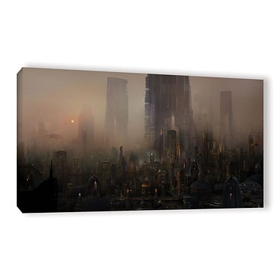 ArtWall Cohabitations Gallery-Wrapped Canvas 24 x 48 (0str005a2448w)