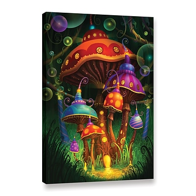 ArtWall Enchanted Evening Gallery-Wrapped Canvas 24 x 36 (0str006a2436w)