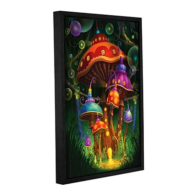 ArtWall Enchanted Evening Gallery-Wrapped Canvas 16 x 24 Floater-Framed (0str006a1624f)