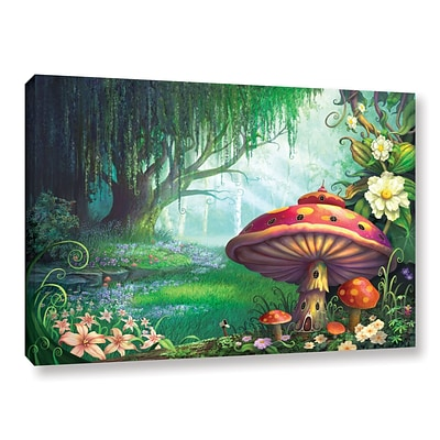 ArtWall Enchanted Forest Gallery-Wrapped Canvas 32 x 48 (0str007a3248w)