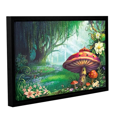 ArtWall Enchanted Forest Gallery-Wrapped Canvas 16 x 24 Floater-Framed (0str007a1624f)