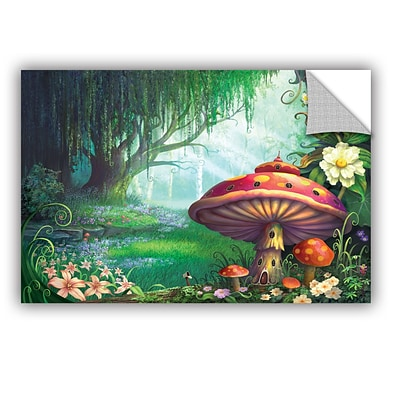 ArtWall Enchanted Forest Art Appeelz Removable Wall Art Graphic 12 x 18 (0str007a1218p)