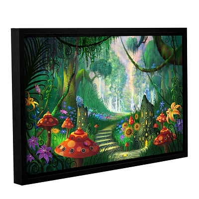 ArtWall Hidden Treasure Gallery-Wrapped Canvas 12 x 18 Floater-Framed (0str009a1218f)