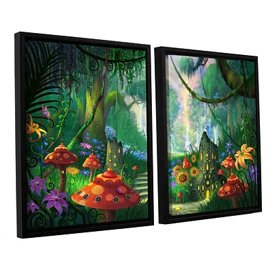 ArtWall Hidden Treasure 2-Piece Canvas Set 32 x 48 Floater-Framed (0str009b3248f)